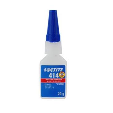 乐泰 瞬干胶,Loctite 414 低粘度 塑料粘接乐泰 Loctite 414/20g