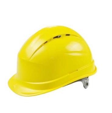 代尔塔  抗紫外线安全帽 黄 插片式Delta【代尔塔】102012-JA