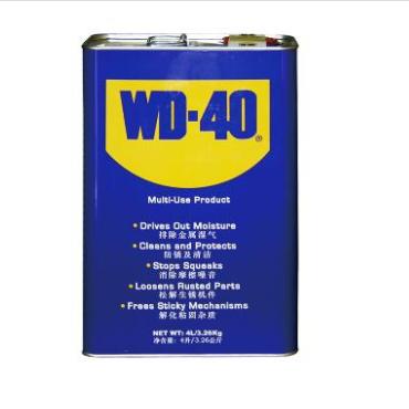 WD-40 除湿防锈 润滑剂,4L/桶WD-40WD-40 86804A