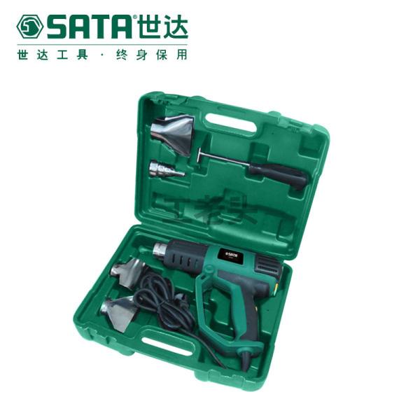 世达 6件经济型调温热风枪组套;09811