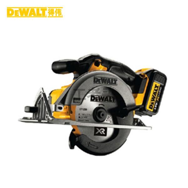 得伟 18V锂电充电式165mm电圆锯(木工);DWE561-A9