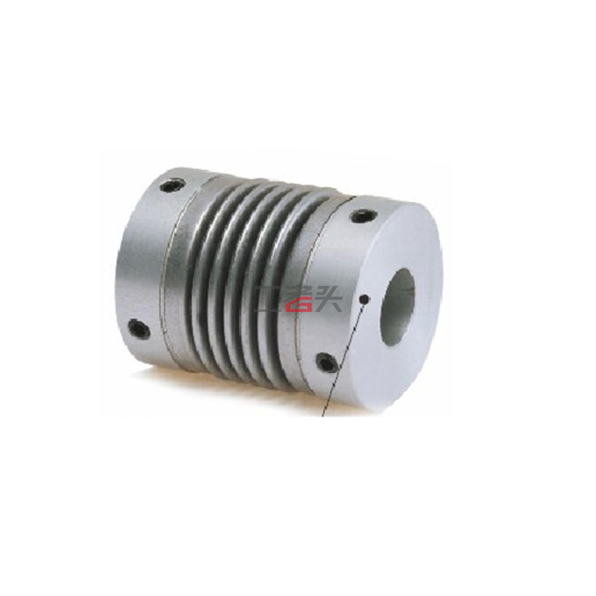 卡普菱 波纹管联轴器LK6-C12-D1D2