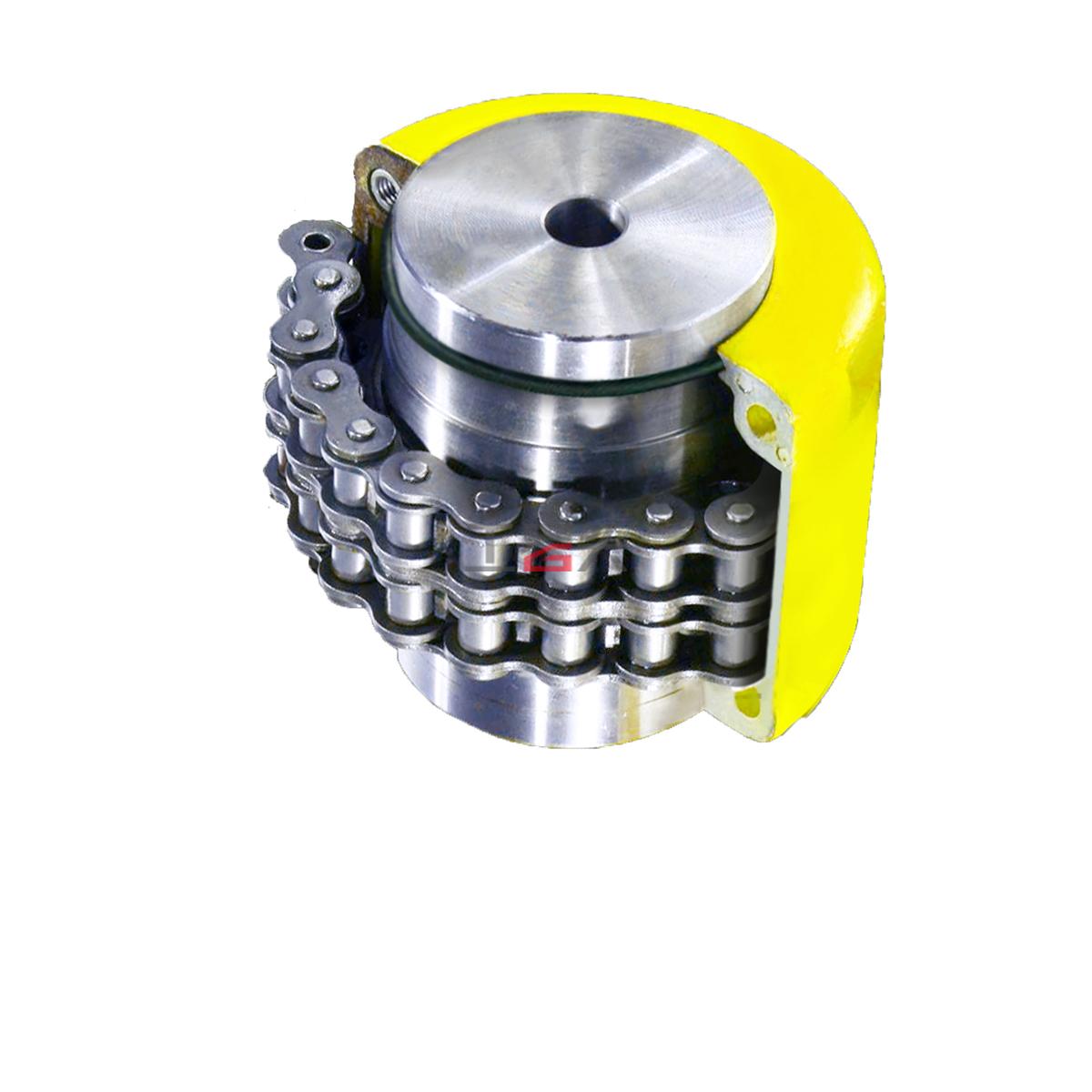 正盟(DL)双排滚子链联轴器AM4012-11-11
